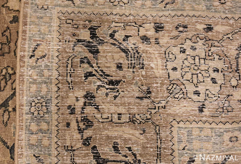 room size antique persian khorassan carpet 48126 weave Nazmiyal