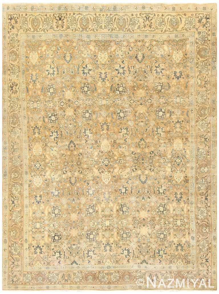 Room Size Vintage Persian Khorassan Carpet 48126 Nazmiyal