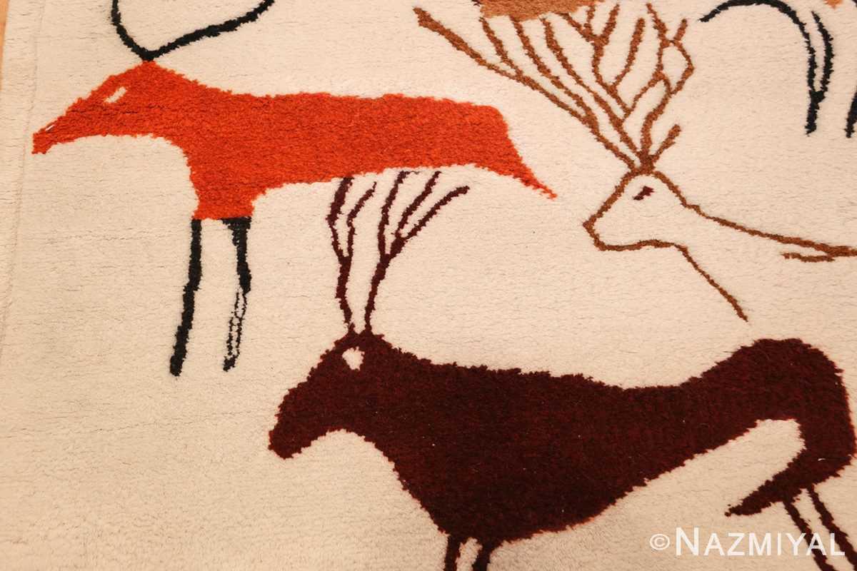 vintage art deco ecuadorian rug 48178 by olga deers Nazmiyal
