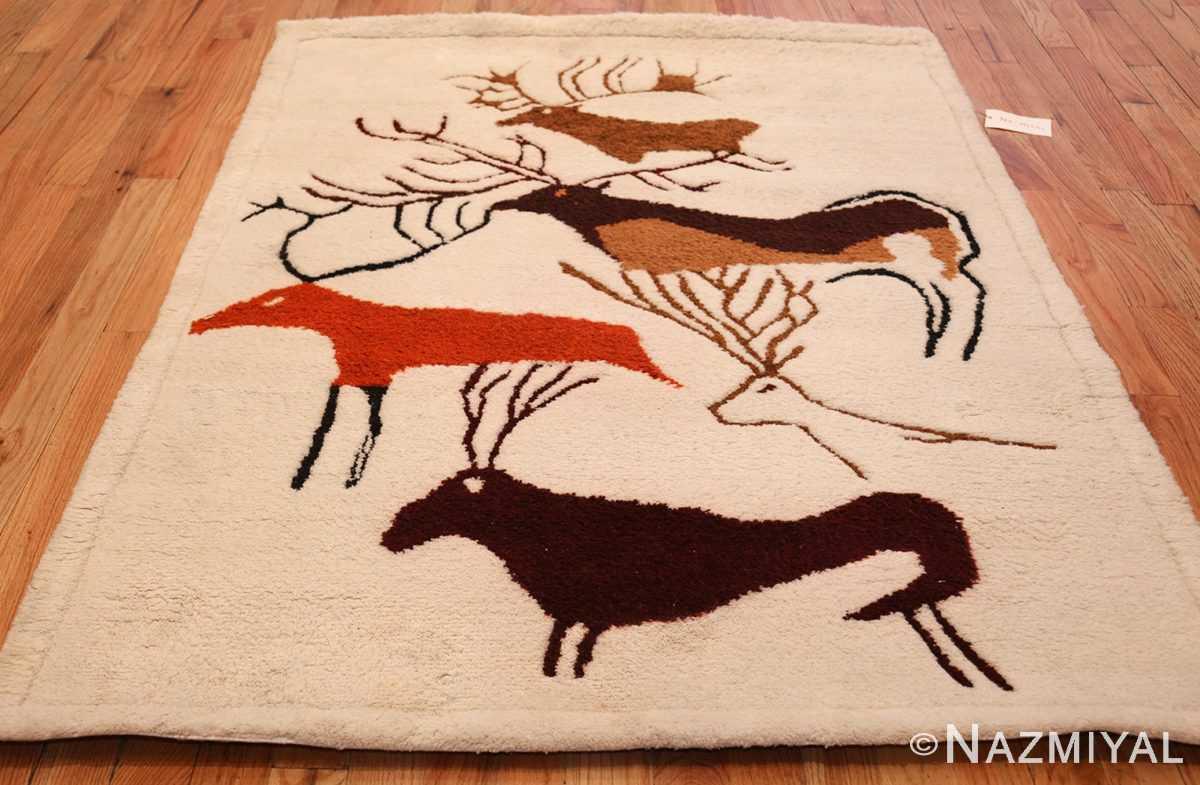 vintage art deco ecuadorian rug 48178 by olga whole Nazmiyal