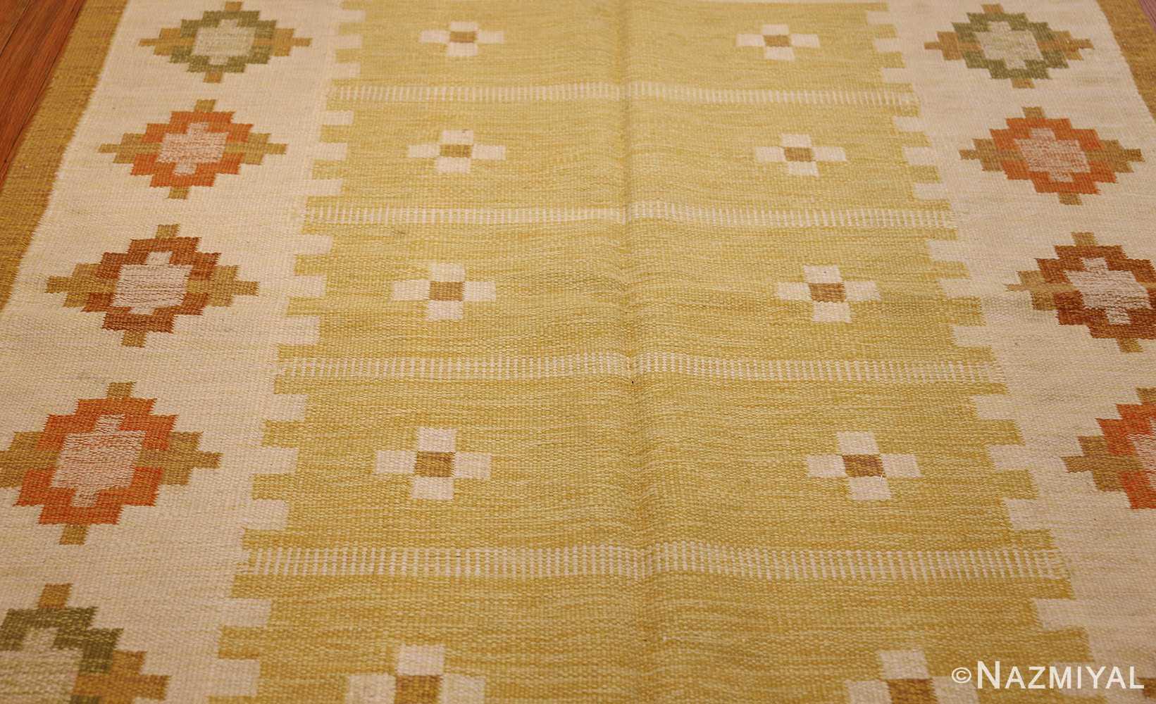 vintage scandinavian kilim 48192 full Nazmiyal