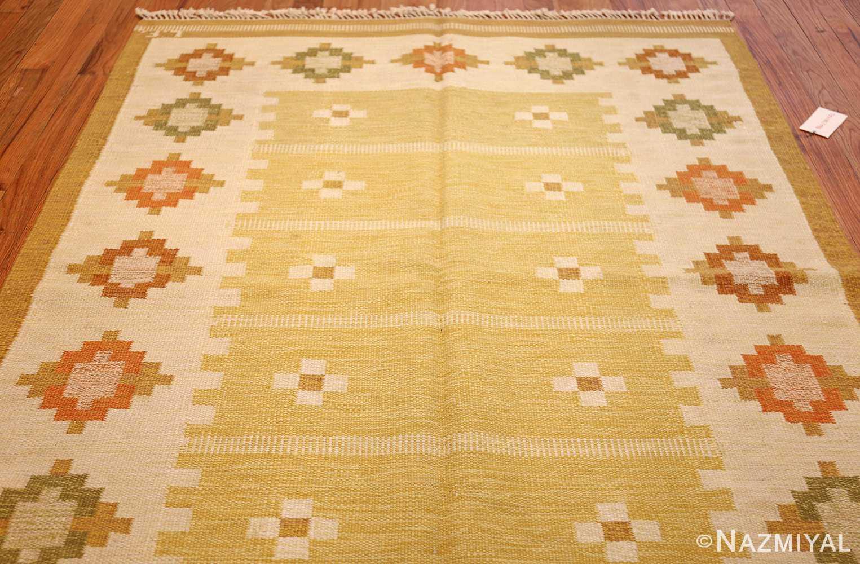 vintage scandinavian kilim 48192 whole Nazmiyal