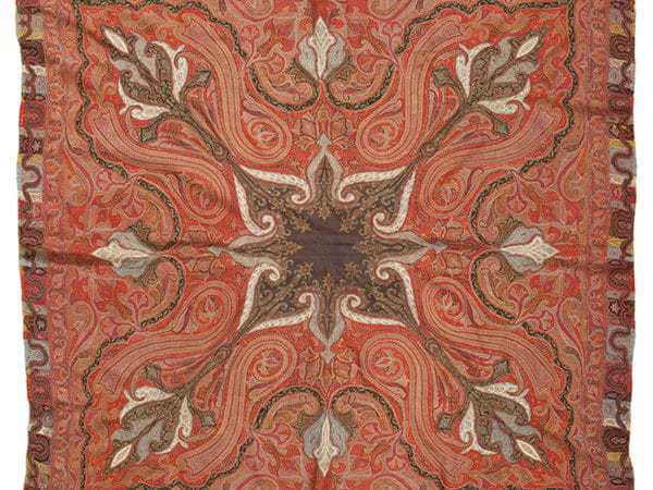 Iranian Textile, antique Persian Shawl