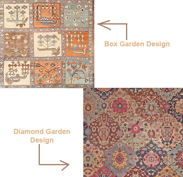 Garden Design Antique Rugs by Nazmiyal
