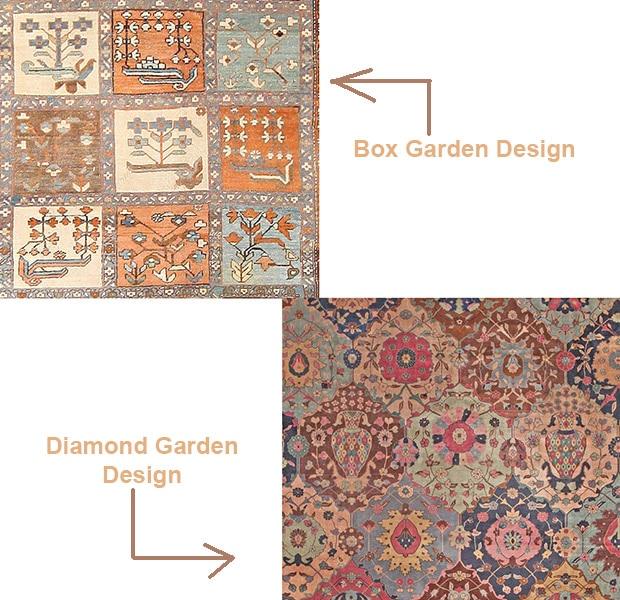 Garden Design Rugs Learn About Garden Designs In Carpets