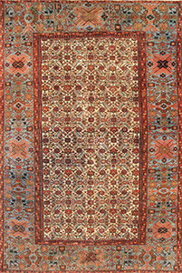 Antique Sultanabad Rug 44146