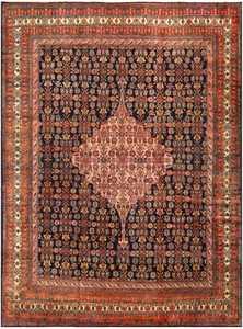 Fine Antique Persian Malayer Carpet 48233 Nazmiyal
