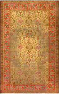 Large Antique Irish Donegal Carpet 2688 Nazmiyal