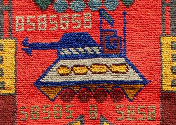 Afghan War Rugs - Nazmiyal