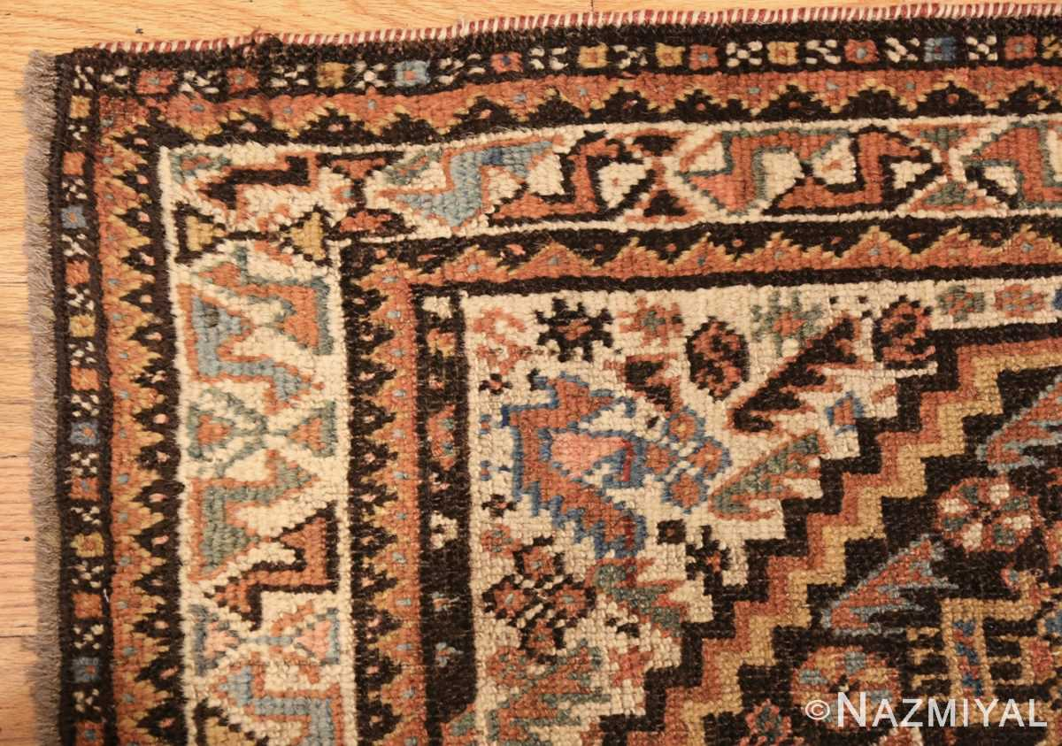 antique ghashgai persian rug 47540 corner Nazmiyal