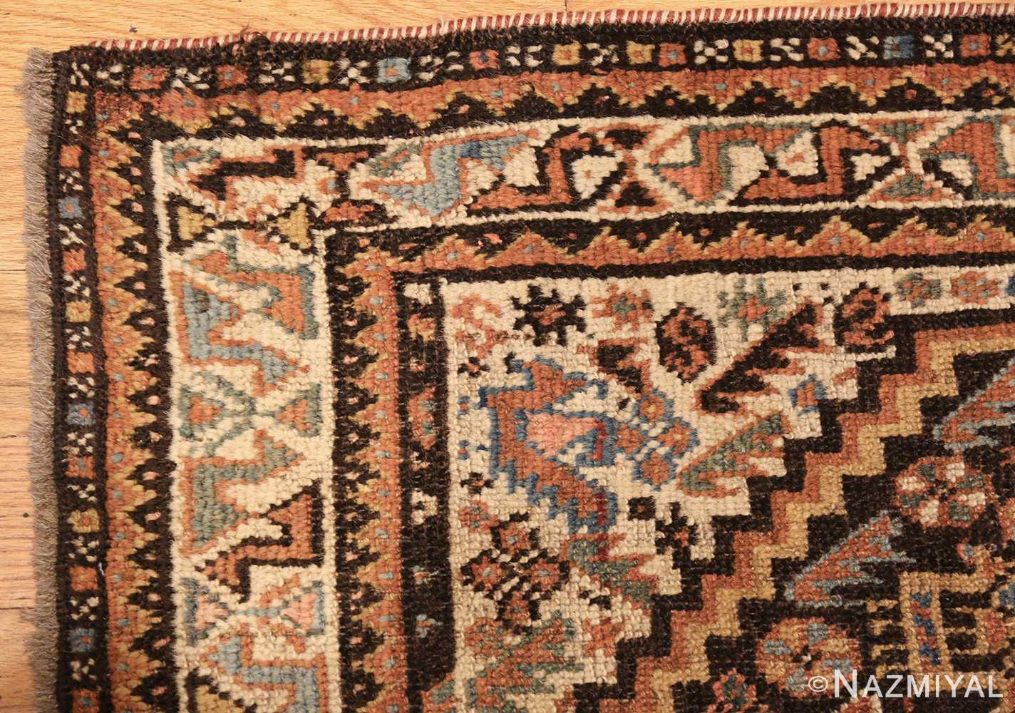 antique ghashgai persian rug 47540 corner Nazmiyal