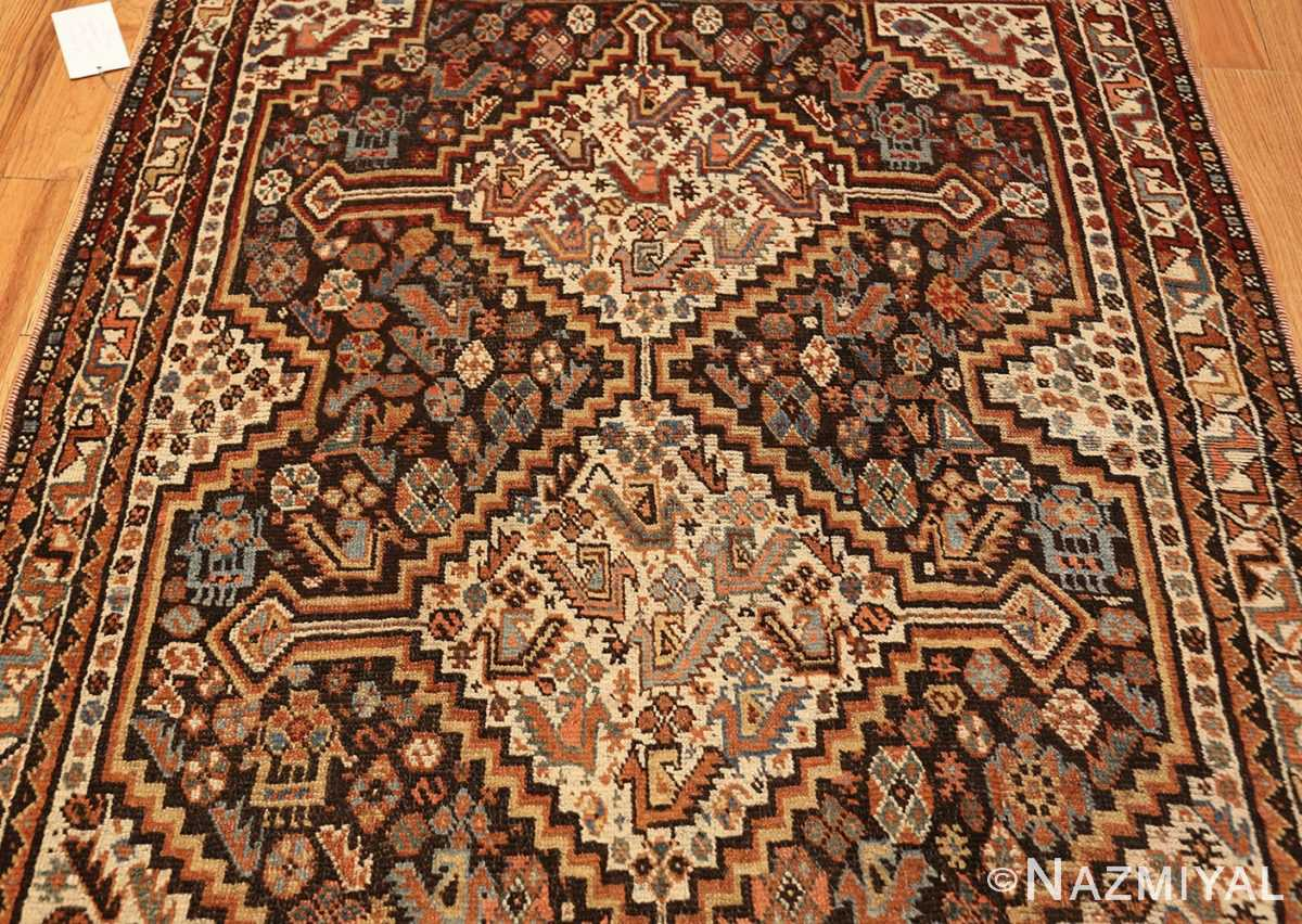 antique ghashgai persian rug 47540 field Nazmiyal