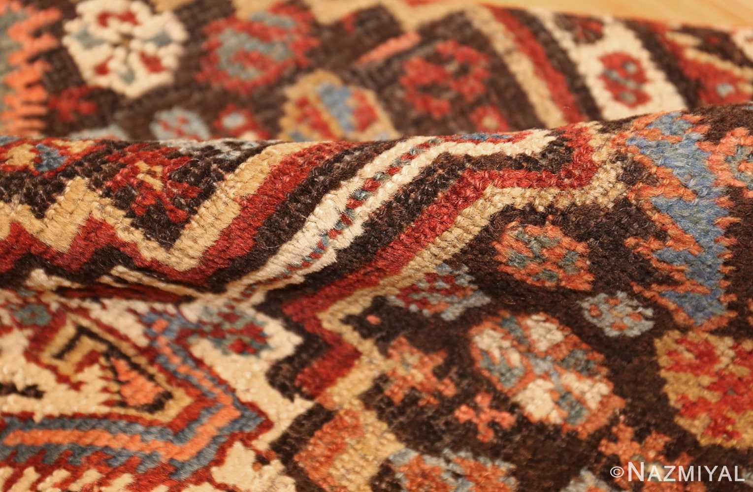 antique ghashgai persian rug 47540 pile Nazmiyal
