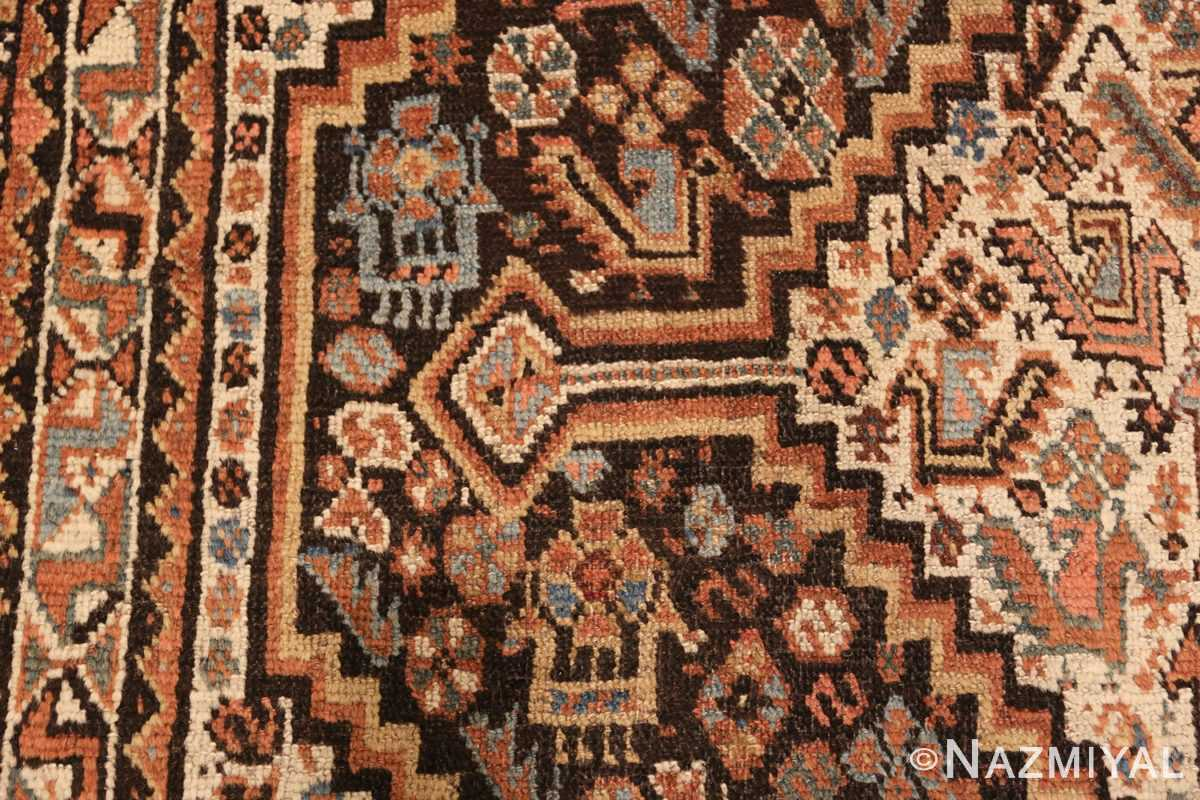 antique ghashgai persian rug 47540 side Nazmiyal