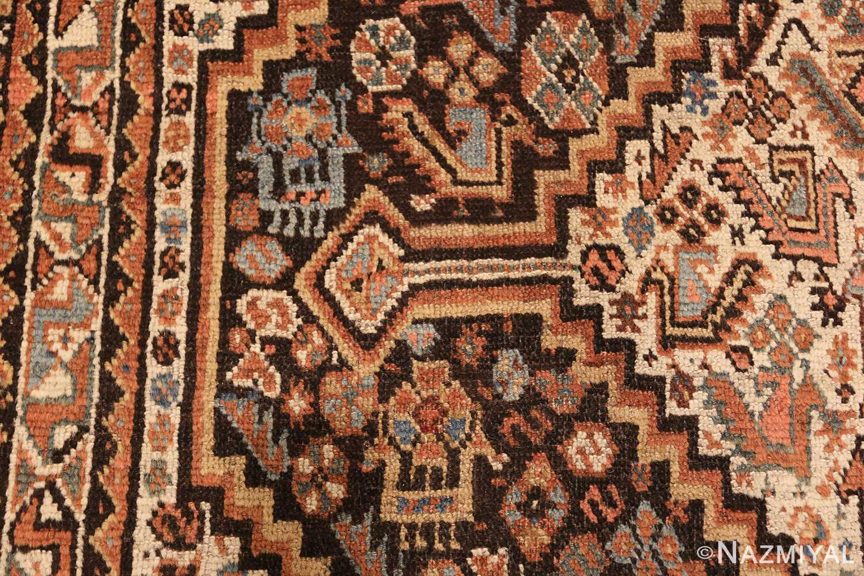 antique ghashgai persian rug 47540 side Nazmiyal