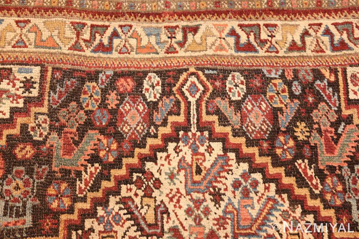 antique ghashgai persian rug 47540 top Nazmiyal