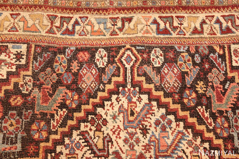 antique ghashgai persian rug 47540 top Nazmiyal
