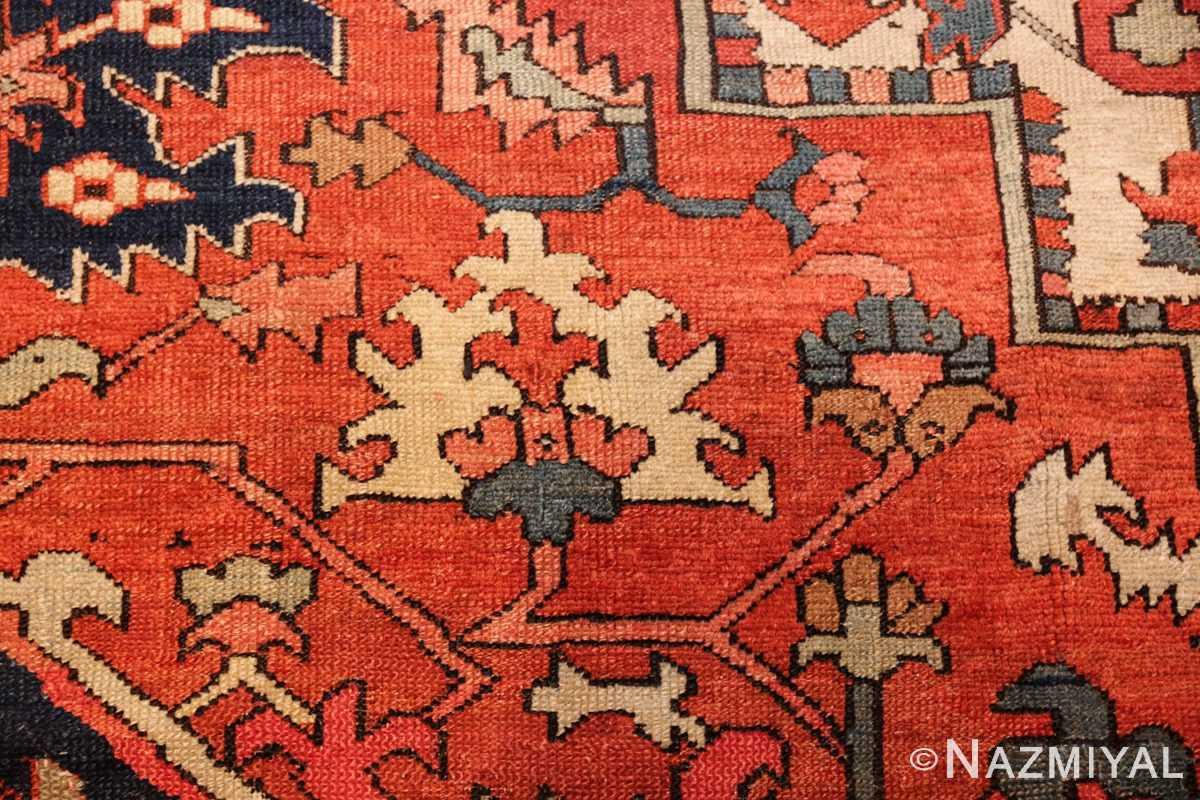 antique persian serapi rug 48241 field Nazmiyal