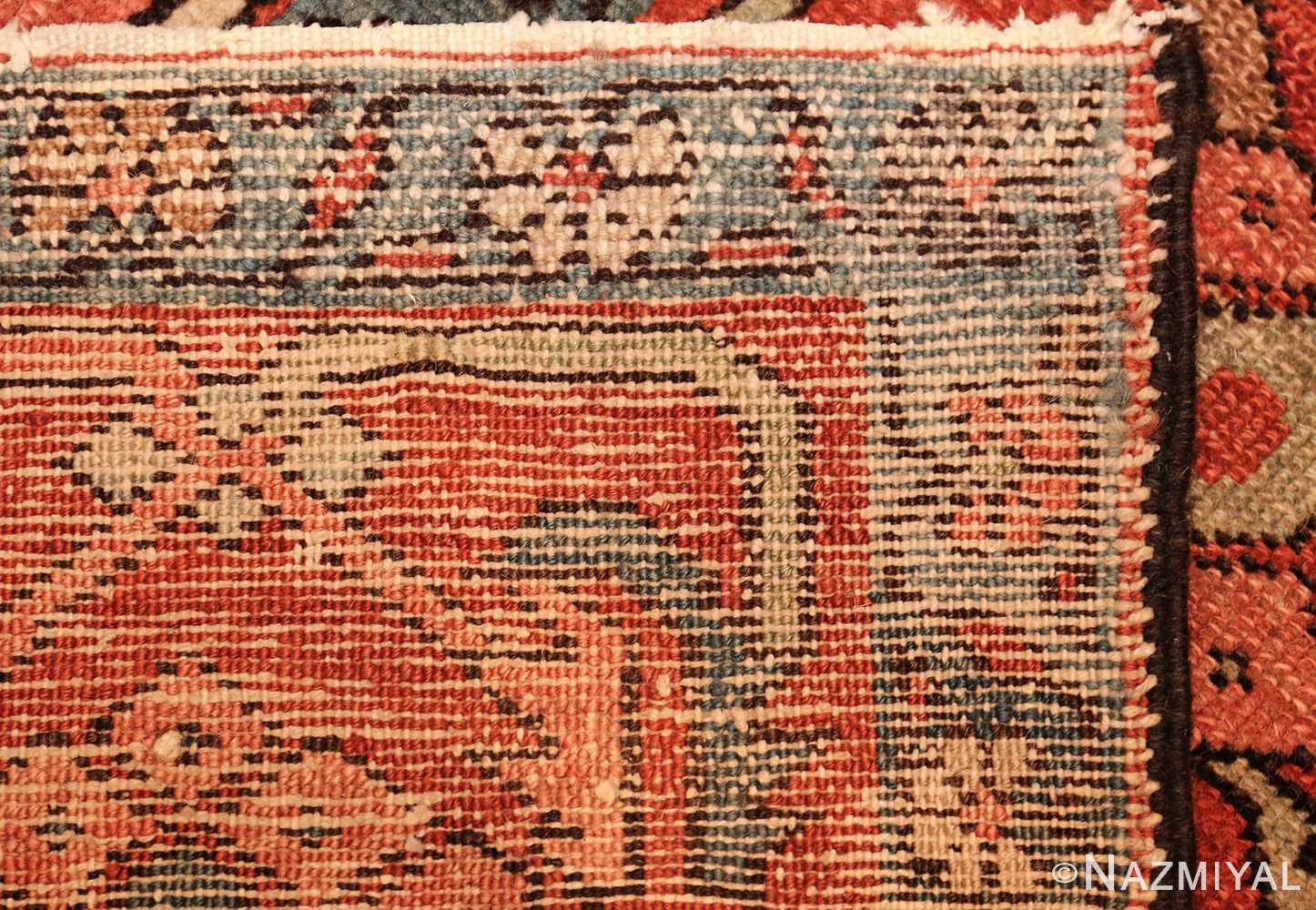 antique persian serapi rug 48241 weave Nazmiyal