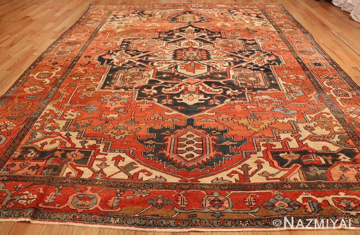 antique persian serapi rug 48241 whole Nazmiyal