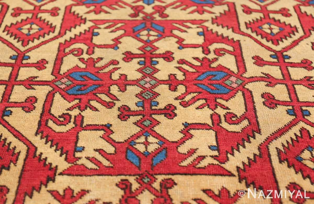 Antique Persian Tabriz Rug 48248 Colorful Pattern Nazmiyal