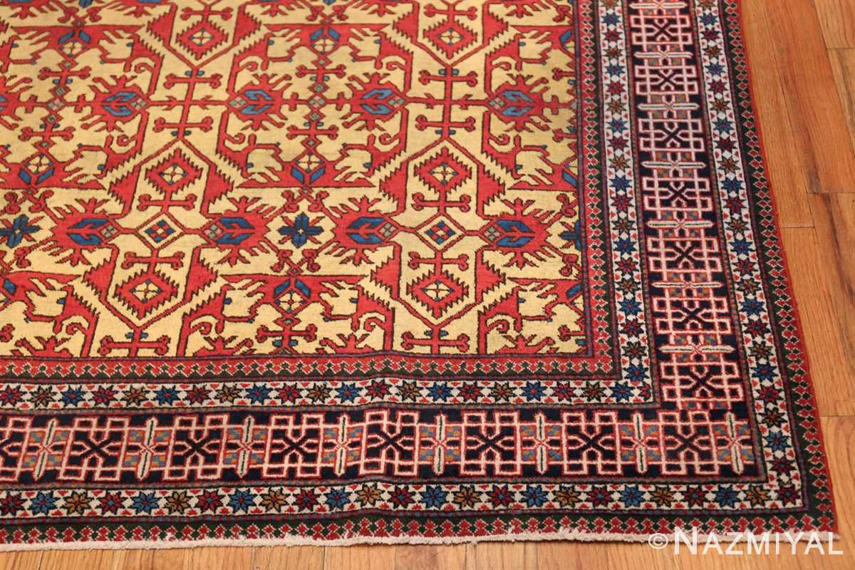 Antique Persian Tabriz Rug 48248 Corner Nazmiyal