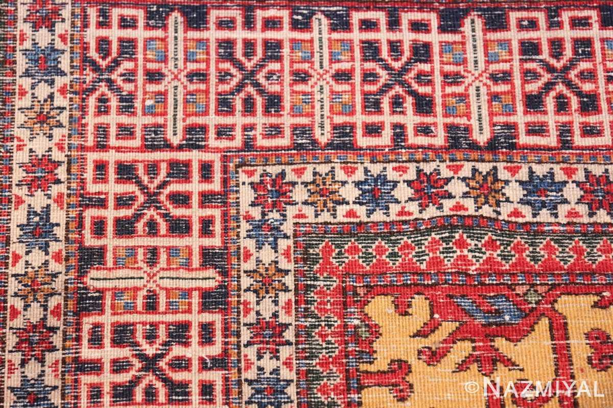 Antique Persian Tabriz Rug 48248 Knots Nazmiyal