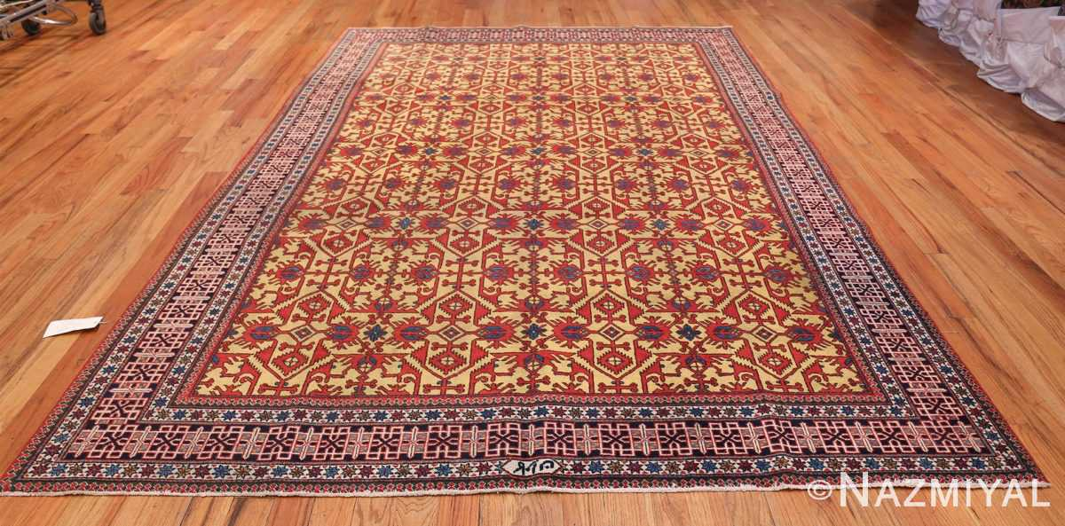 Antique Persian Tabriz Rug 48248 Whole Design Nazmiyal