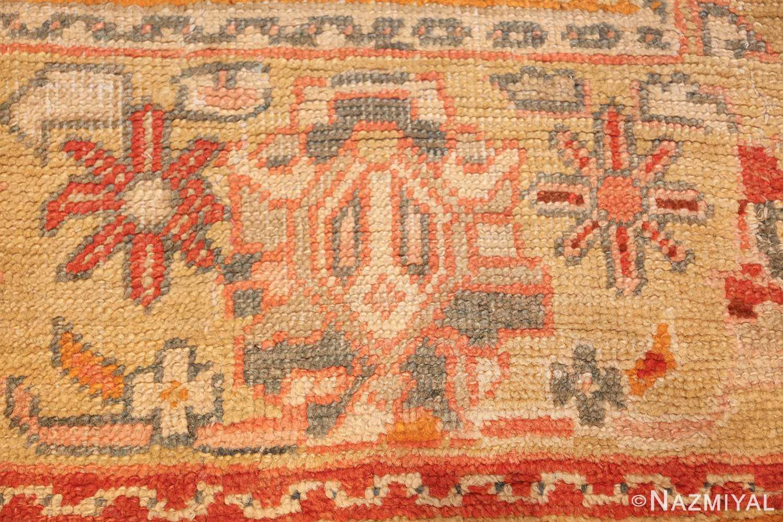 antique room size oushak turkish rug 48157 star Nazmiyal