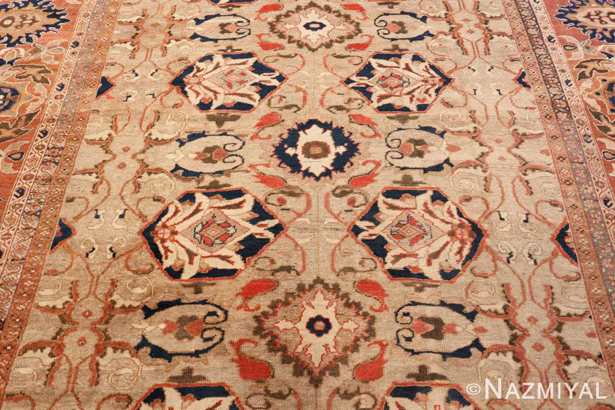 Field Antique Persian Sultanabad by Ziegler rug 48150 by Nazmiyal