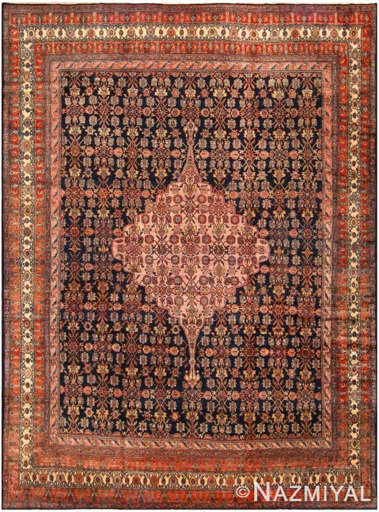 Fine Antique Persian Malayer Carpet 48233 Nazmiyal