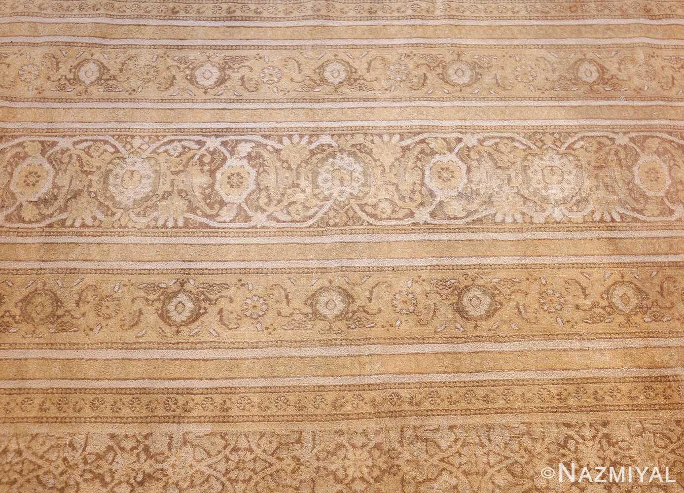 large antique persian tabriz carpet 48211 border Nazmiyal