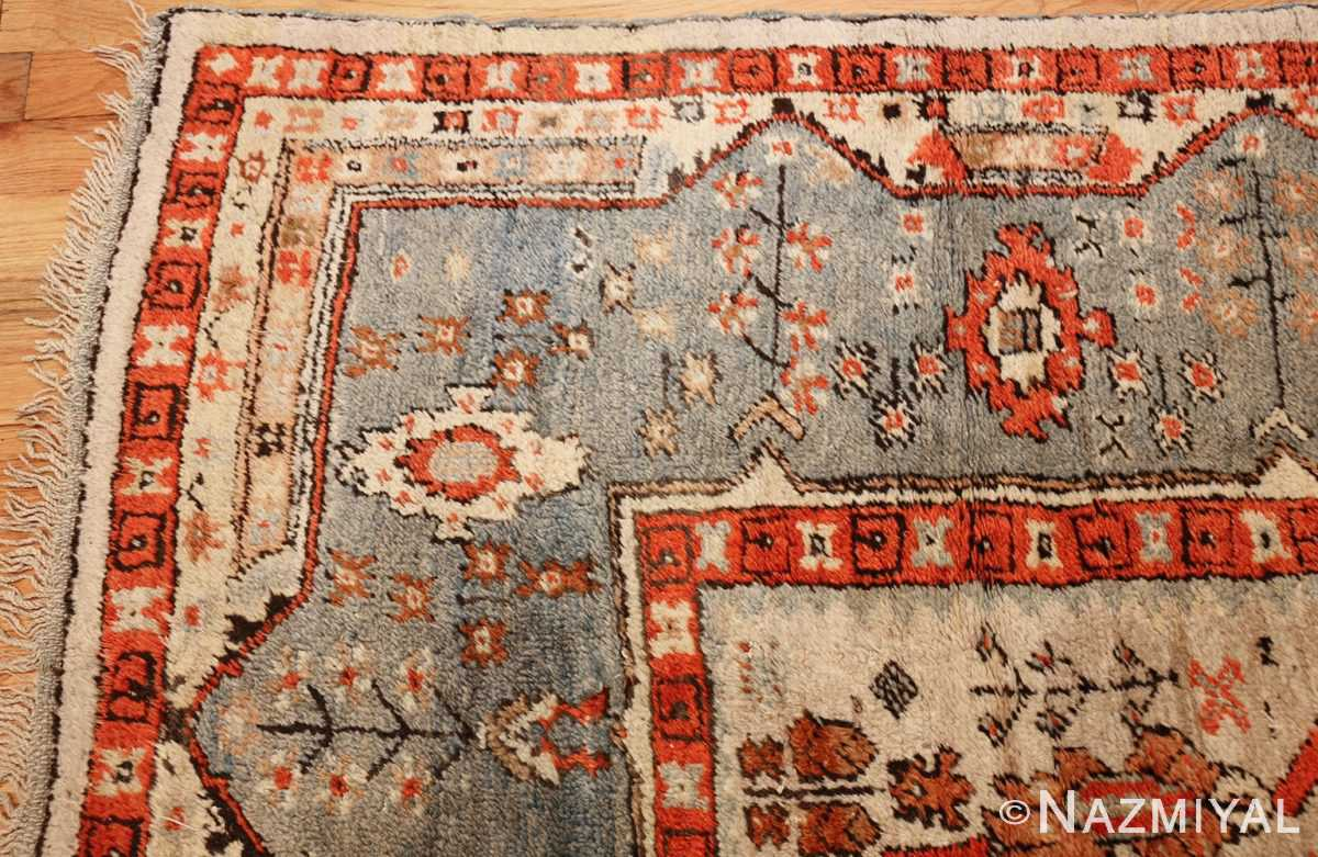 large antique turkish ghiordes carpet 48247 corner Nazmiyal