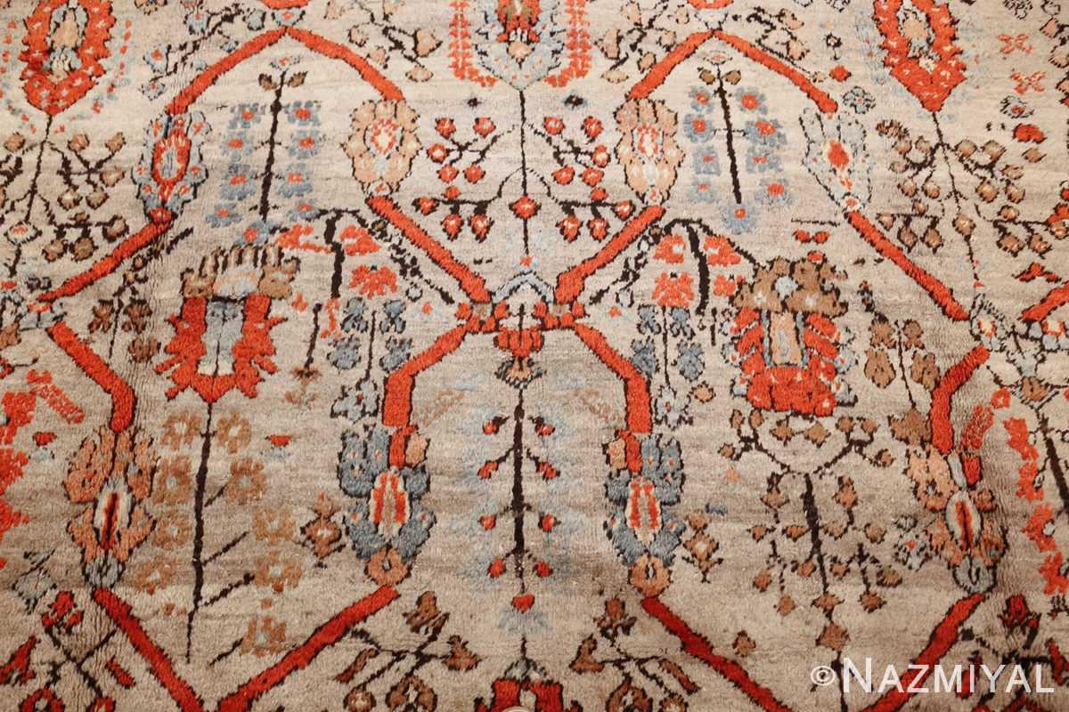large antique turkish ghiordes carpet 48247 design Nazmiyal