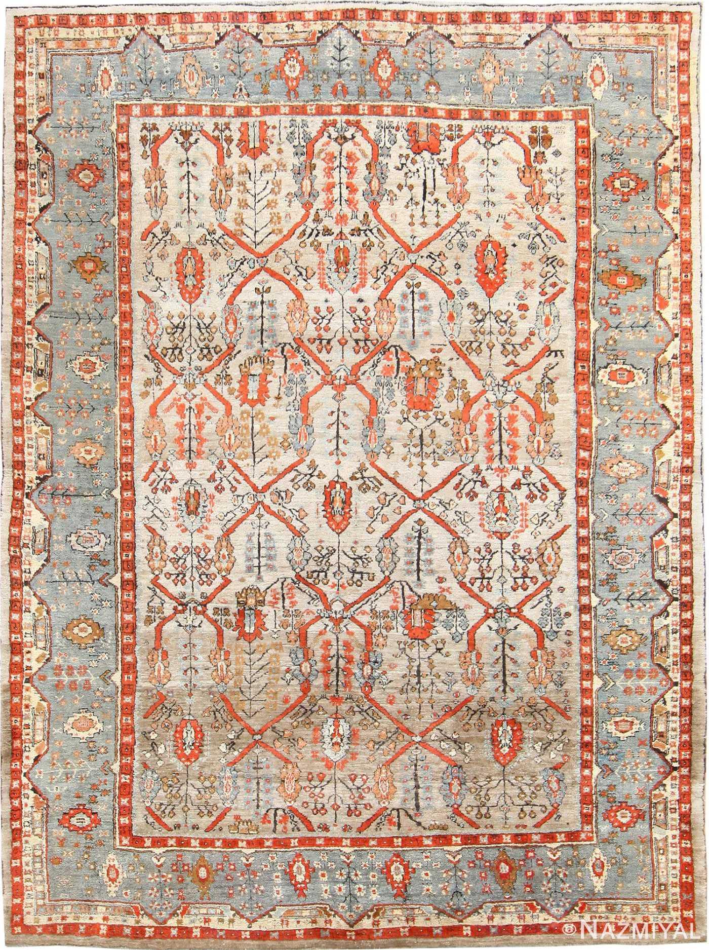 Large Antique Turkish Ghiordes Carpet 48247 Nazmiyal
