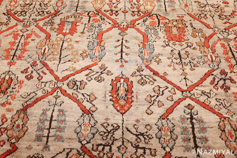 large antique turkish ghiordes carpet 48247 field Nazmiyal