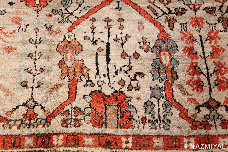 large antique turkish ghiordes carpet 48247 red Nazmiyal