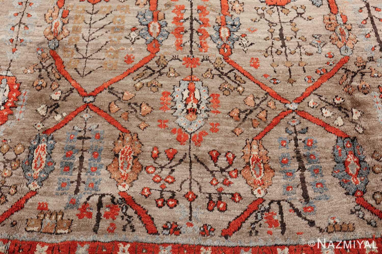 large antique turkish ghiordes carpet 48247 side Nazmiyal