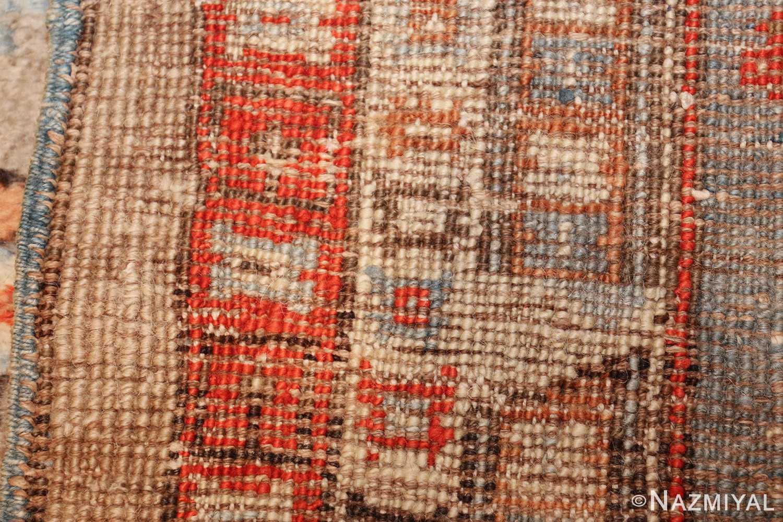 large antique turkish ghiordes carpet 48247 weave Nazmiyal