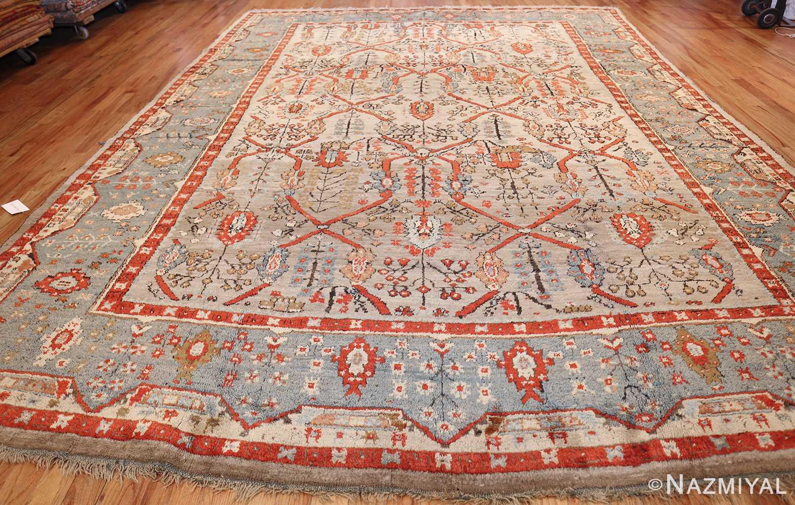 large antique turkish ghiordes carpet 48247 whole Nazmiyal