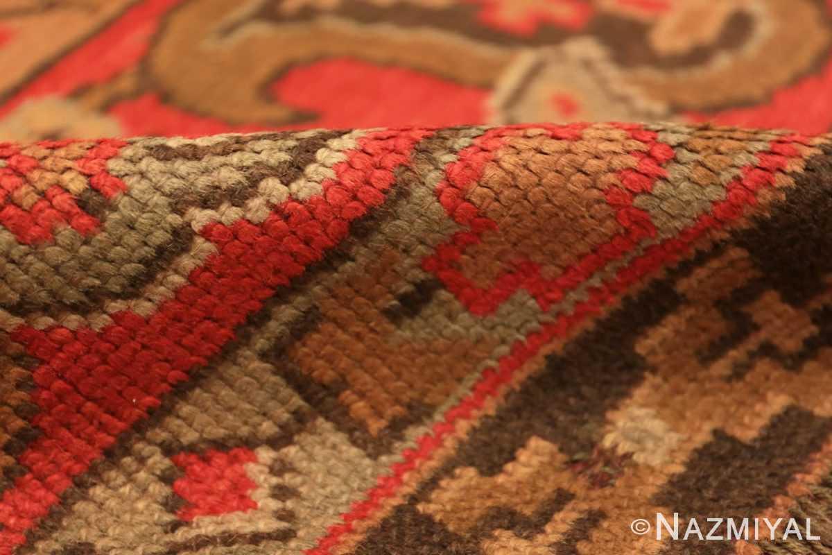 Pile Large Shabby chic Antique Irish Donegal carpet 2688 by Nazmiyal