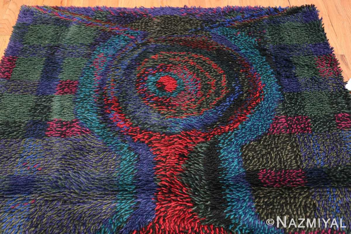 Vintage Scandinavian Rya Rug by Ritva Puotila 48288 Top Design Nazmiyal