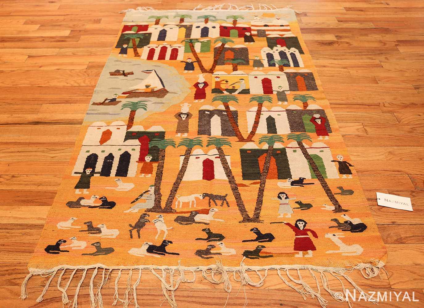 vintage swedish folk art tapestry 48251 whole Nazmiyal