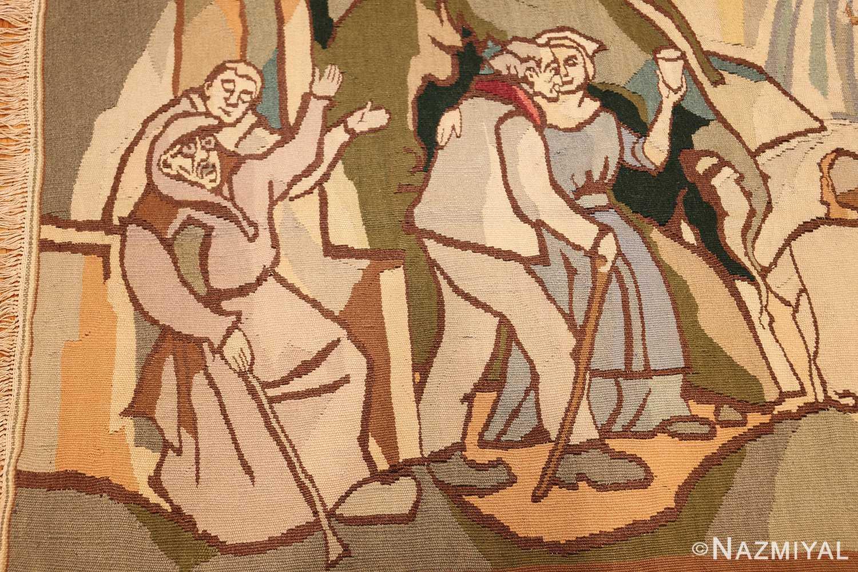 vintage swedish tapestry 48283 couples Nazmiyal