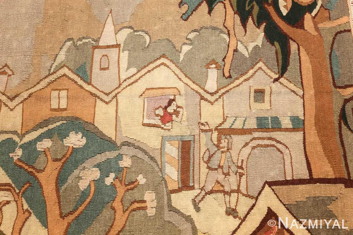 vintage swedish tapestry 48283 husband Nazmiyal