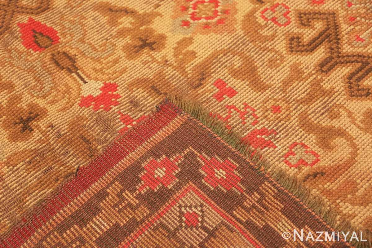 Weave Large Shabby chic Antique Irish Donegal carpet 2688 by Nazmiyal