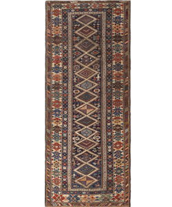 Antique Caucasian Shirvan Rug 46196