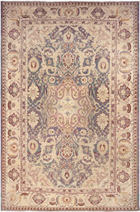 Beautiful Antique Indian Agra Rug 45976