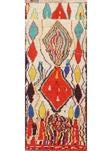 Vintage Moroccan Carpet 47926
