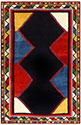 Vintage Persian Ghashgai Rug 48229